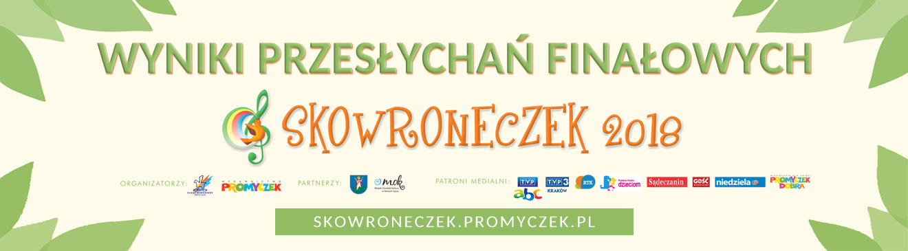 Wyniki - Skowroneczek 2018
