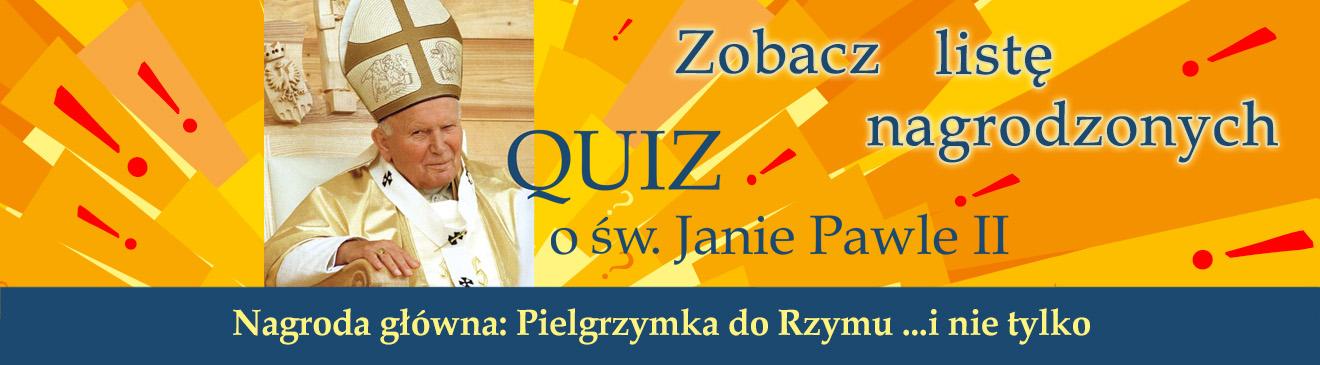 Quiz o Janie Pawle II